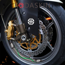 KODASKIN 2D Ninja H2R Sticker Decal Wheel Rim for Kawasaki