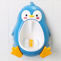 new Penguin Urinal Babies Boys Potty Toilet Training Kids Children Stand Vertical Urinal Infant Penico Pee boy portable toilet
