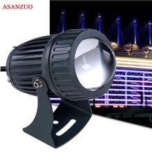 10pcs 12V 24V 100 240V 10W ไฟ LED กำแพงเครื่องซักผ้ากันน้ำ Floodlights จุดโคมไฟภูมิทัศน์กลางแจ้ง
