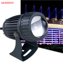 10pcs 12V 24V 100 240V 10W LED מבול אור קיר מכונת כביסה עמיד למים זרקורים ספוט מנורת נוף חיצוני תאורה