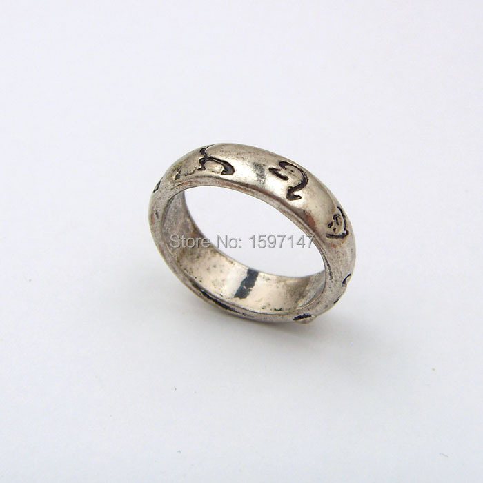 The Mortal Instruments City of Bones Runes Round Finger Ring