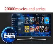 Start IPTV subscription french spanish italian Dutch arabic 20000 films