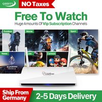 Leadcool Android4 4 IPTV Box 1G 8G Quad Core 1080P Streaming Box Media Player With Arabic
