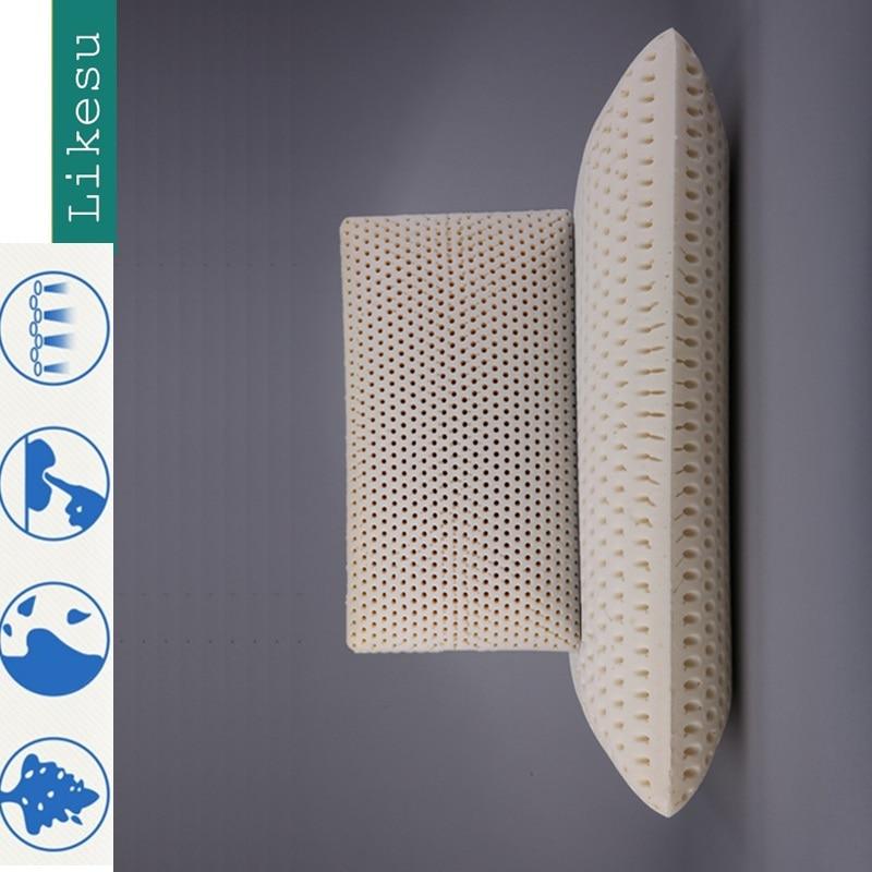 100% Natural Talalay Latex  Pillow - Queen - High Loft, Firm