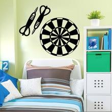 Target Darts Wall Decals Removable Vinyl Home Design Wall Decor Boys  Bedroom Nursery Wall Art Poster Vinilos Paredes Murals A271 Part 74