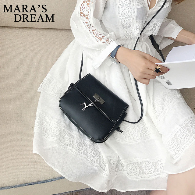 Mara's Dream Shell Women Messenger Bags High Quality Cross Body Bag PU Leather Mini Female Shoulder Bag Handbags Bolsas Feminina 4