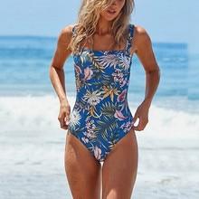 Купальная одежда, цельный цветочный принт, новинка, сексуальный женский бандаж размера плюс, купальный костюм, женский купальный костюм, монокини, пляжная одежда, 18Dec10