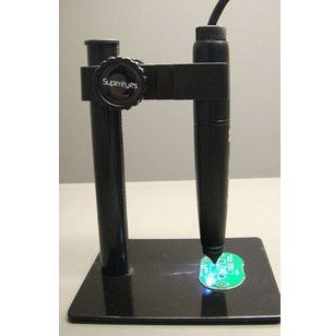 Mini USB LED Digital 500X Microscope Magnifier Endoscope Pen + Adjustable Stand