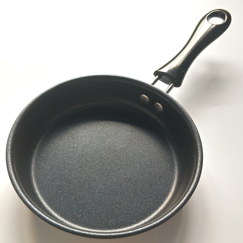 2019 Nonstick Fry Pan, 12cm Omelette Skillet For Stovetops And Induction, Hard-Annodized Coated With Easy Clean Surface