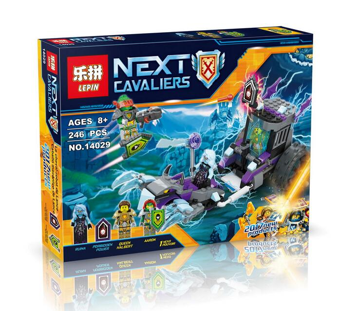 Lepin 14029 Nexus Knights Building Blocks set Ruina's Lock & Roller Kids gift bricks toys compatible with 70349 P719 lepin 22001 pirate ship imperial warships model building block briks toys gift 1717pcs compatible legoed 10210