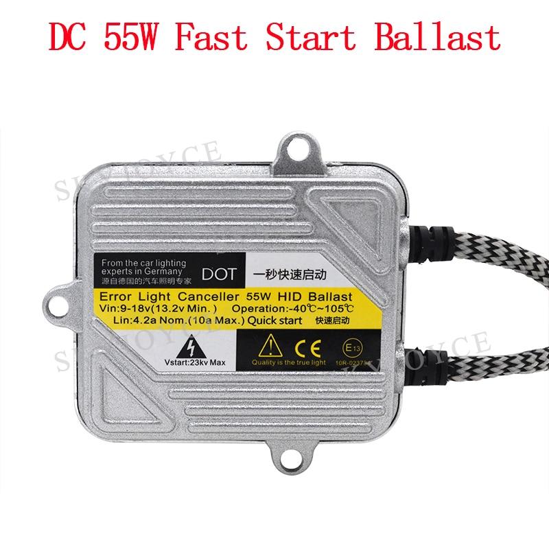 55W HID Ballast DC