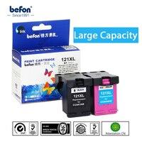 Befon Восстановленный 121XL картридж Замена для HP121 HP 121 XL чернильный картридж для Deskjet D2563 F4283 F2423 F2483 F2493