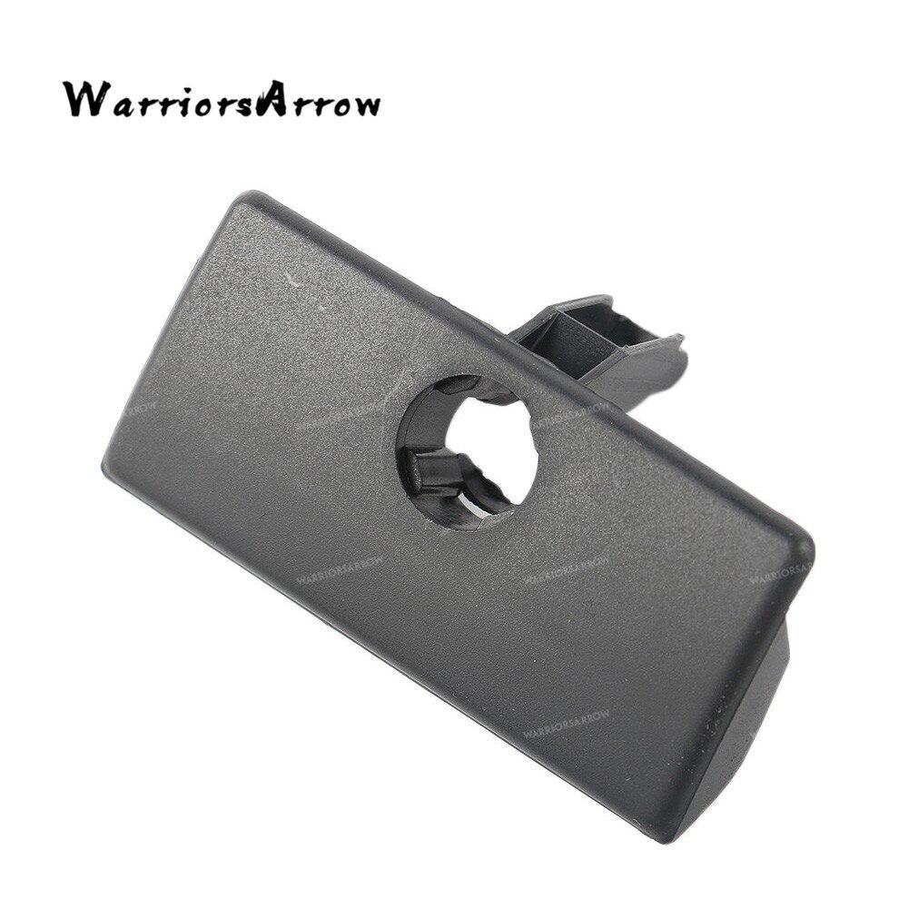 WarriorsArrow черный замок для перчаточного ящика Ручка для крышек кастрюль с отверстием для VW GOLF 1998-2005 JETTA 1999 2000 2001 2002 2003 2004 A4 MK4 бора