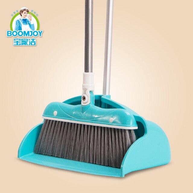 Japanese style windproof leakproof broom dustpan set floor soft ...