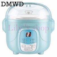 DMWD электрическая мультиварка  варочная машина для воды  тушения супа  каши  березня  керамический горшок для здоровья яиц  отпариватель для ...