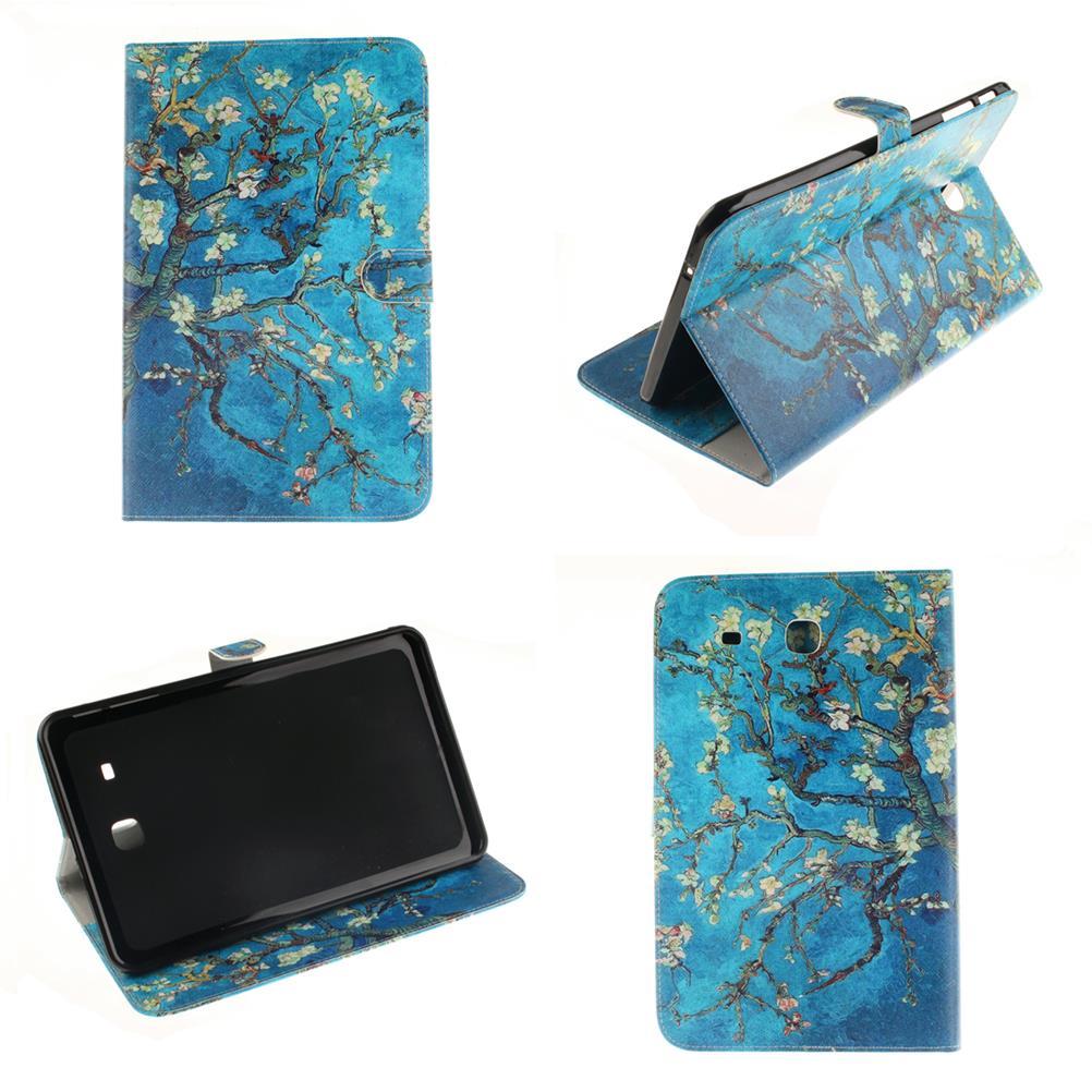Für Samsung Galaxy S2 9,7 T810 T815 Van Gogh Pu-leder Tablet Ständer fall Für Samsung Galaxy Tab Tab E 9,6 T560 Tab S T705 T805