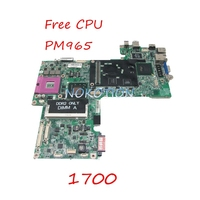 NOKOTION CN 0HX766 0HX766 HX766 Laptop Motherboard For Dell Vostro 1700 965PM DDR2 Main Board Free CPU Full works