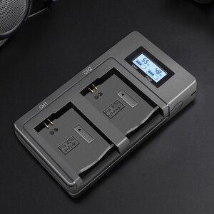 Image 3 - PALO NP FW50 kamera pil şarj cihazı npfw50 fw50 LCD USB çifte şarj makinesi için Sony A6000 5100 a3000 a35 A55 a7s II alfa 55 alfa 7 Bir