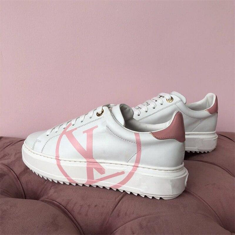Femmes Mode Conception 3 Marque Et Automne De 1 Casual Chaussures Dames Plates Printemps Nouvelle 2019 Tendance Luxe 2 6fnwFxgn