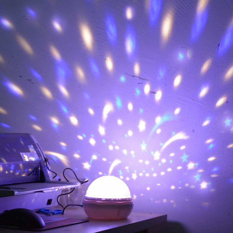 Hot starry sky projector rotating 3 modes starlight ceiling lights hot starry sky projector rotating 3 modes starlight ceiling lights romantic led night light projection lamp for holiday lighting in led night lights from aloadofball Choice Image