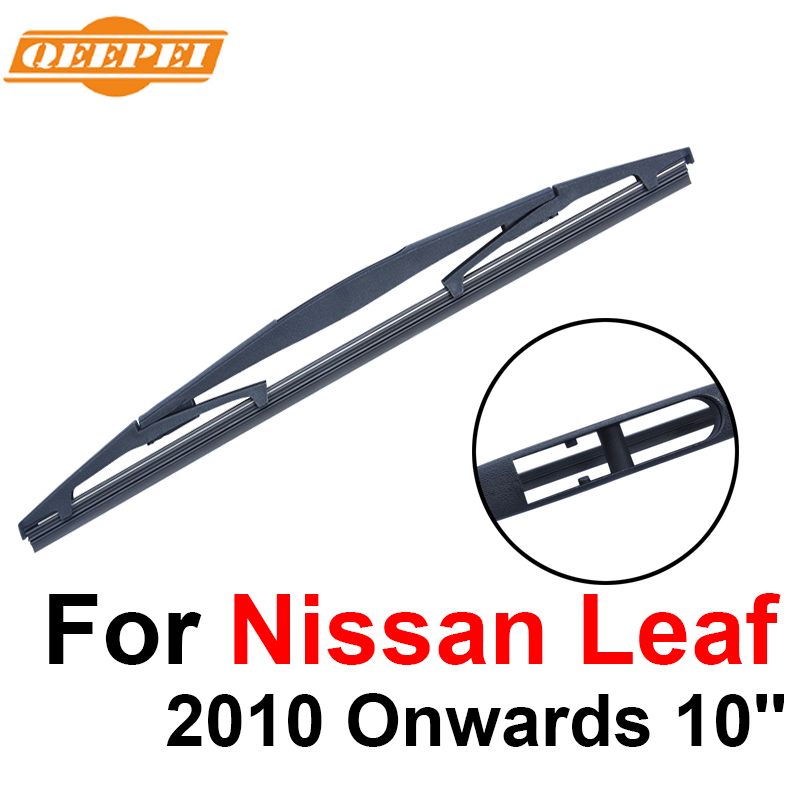 QEEPEI Rear Wiper Blade No Arm For Nissan Leaf 2010 Onwards 10 5 door Hatchback High Quality Iso9000 Natural Rubber B1-25