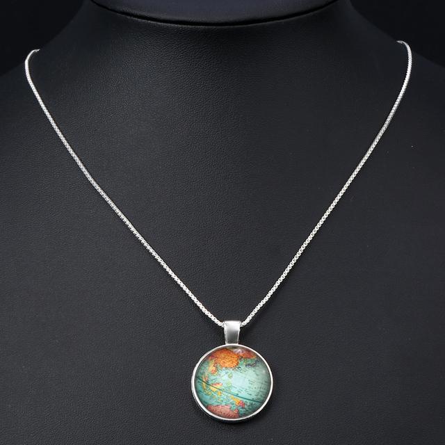 Bohemian Globe Necklace
