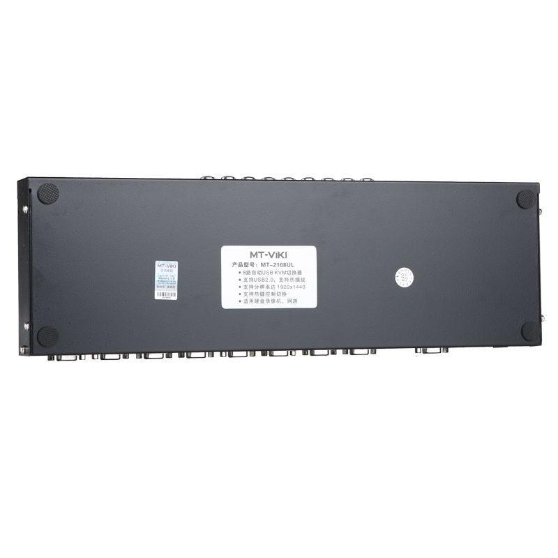 MT Viki Kvm switch 8 Port VGA USB Auto Scan Hotkey Unterstützt 1HE ...