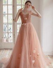 Элегантное платье с v образным вырезом de soiree longue 2020
