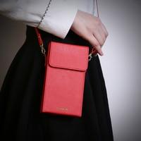 Universal 6inch Messenger Shoulder Bag Wallet Mini Handbag Case For IPhone 5s 5C 6 6S Plus