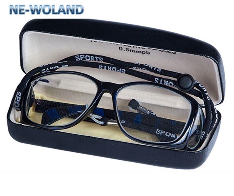High end óculos Frontal e lateral de proteção abrangente de proteção de radiação ionizante x-ray blindagem 0.5 0.5mmpb chumbo óculos