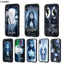 Lavaza Corpse Bride Case for iPhone 11 Pro XS Max XR X 8 7 6 6S Plus 5 5s se(China)