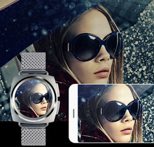 digital smart watch for man women stainless steel genuine leather montre for apple iphone and andrid