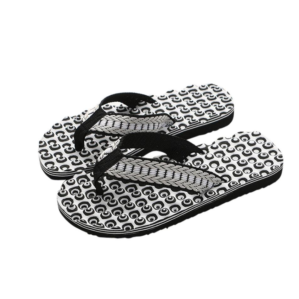 Sandals Male Slipper Shoes Flip-Flops Men Summer Massage Soft Outdoor New Comfortable