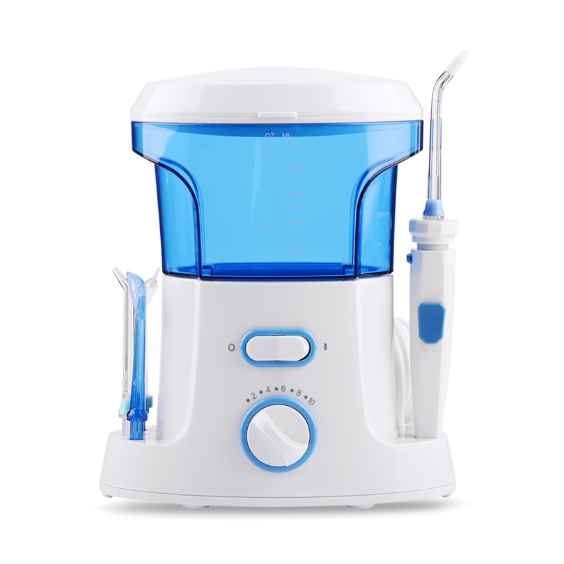 NEW Professional Oral Irrigator 7 Multifunctional Tips Electric Water Pick 600mL Teeth Cleaner for Braces Dental Care for Family