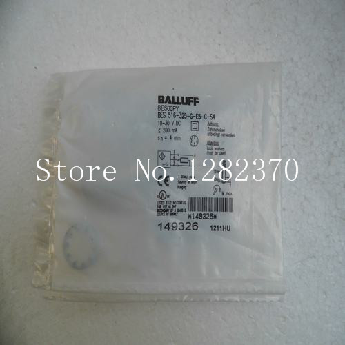 [SA] New original special sales BALLUFF sensor BES 516-325-G-E5-C-S4 spot 4pcs new for ball uff bes m18mg noc80b s04g