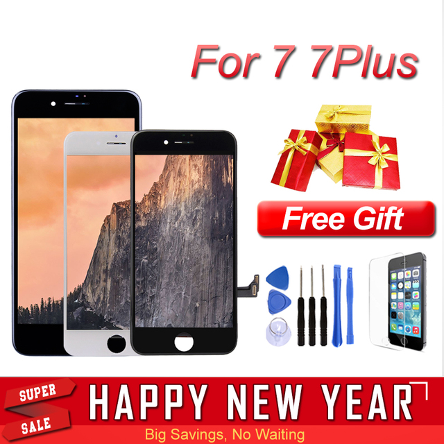 promo code 09081 b76ff US $10.82 |Best Quality LCD Screen for iPhone 7 Plus Display Replacement  Assembly Parts 7P 7Plus Touch Panel Digitizer Tempered Glass Tools-in  Mobile ...