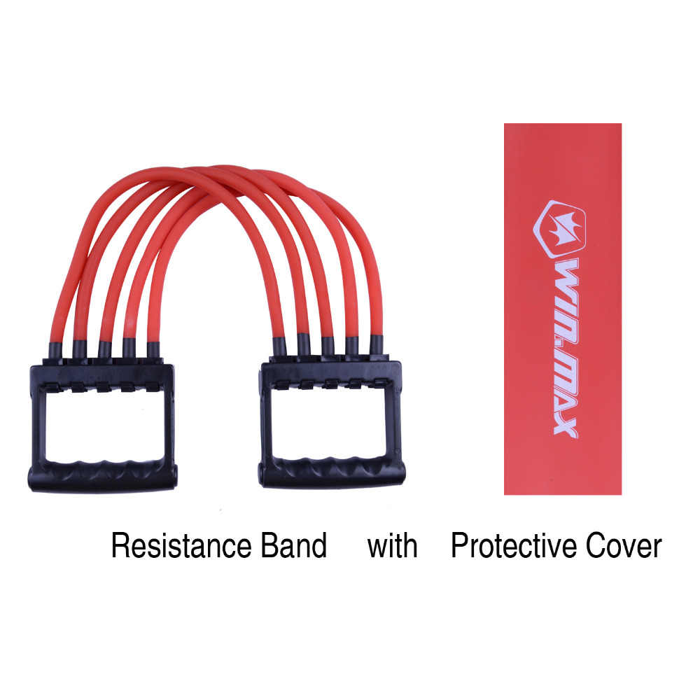 Top kwaliteit Winmax professionele fitness weerstand bands, thuis gym apparatuur voor spier en fitness