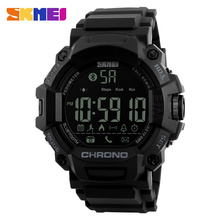 SKMEI Chronograph Men Smartwatch Pedometer Calories Mens Fashion Sport Smart Watches Chronograph Waterproof Digital Wristwatches