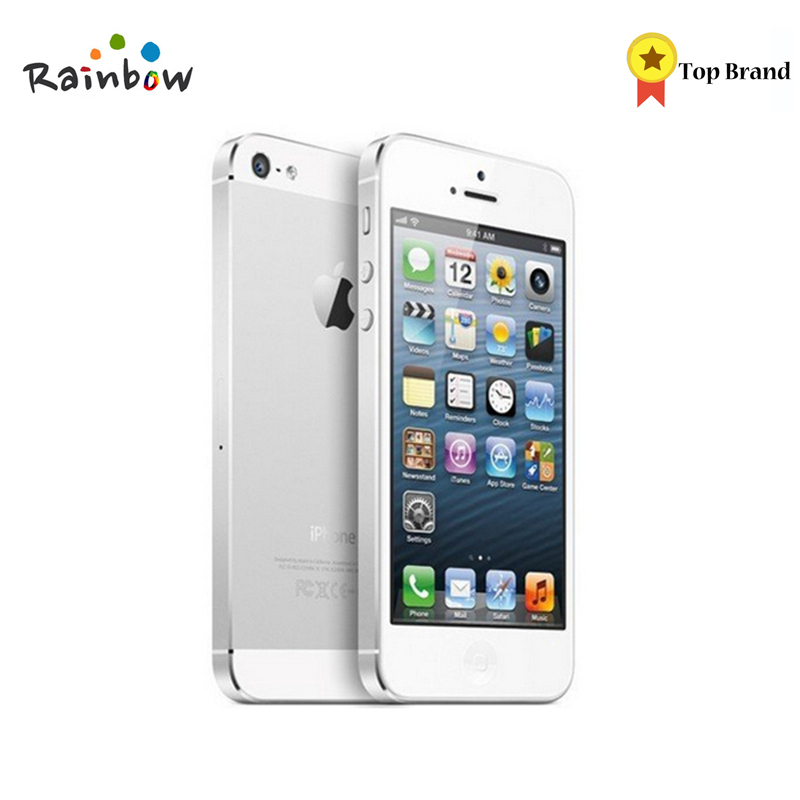 Original IPhone 5 Factory Unlocked 16GB/32GB/64GB Storage GPS WIFI Dure Core 4.0 Screen Cell Phone