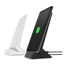 Qi Wireless Charger Quick Charger Stand Holder for Samsung S8 S8 Plus Note 8 S7 Edge Nexus 4 Fast Charging Phone for iPhone 8 X