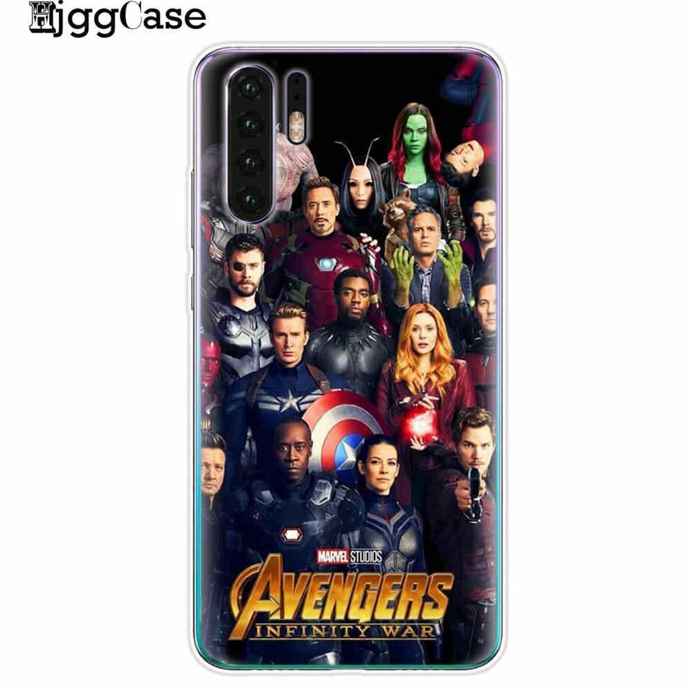 Marvel Avengers Endgame Dành Cho Huawei P30 Lite Ốp Lưng Mềm Mại Ốp Lưng Silicone Ốp Lưng Điện thoại Huawei P30 Lite Pro p30Lite P30Pro