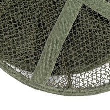 1.4M 5 Layers Folding Fish Care Creel Tackle Fishing Net Stake Small/Large Mesh Fishing Tackle Tools Foldable Fishing Net