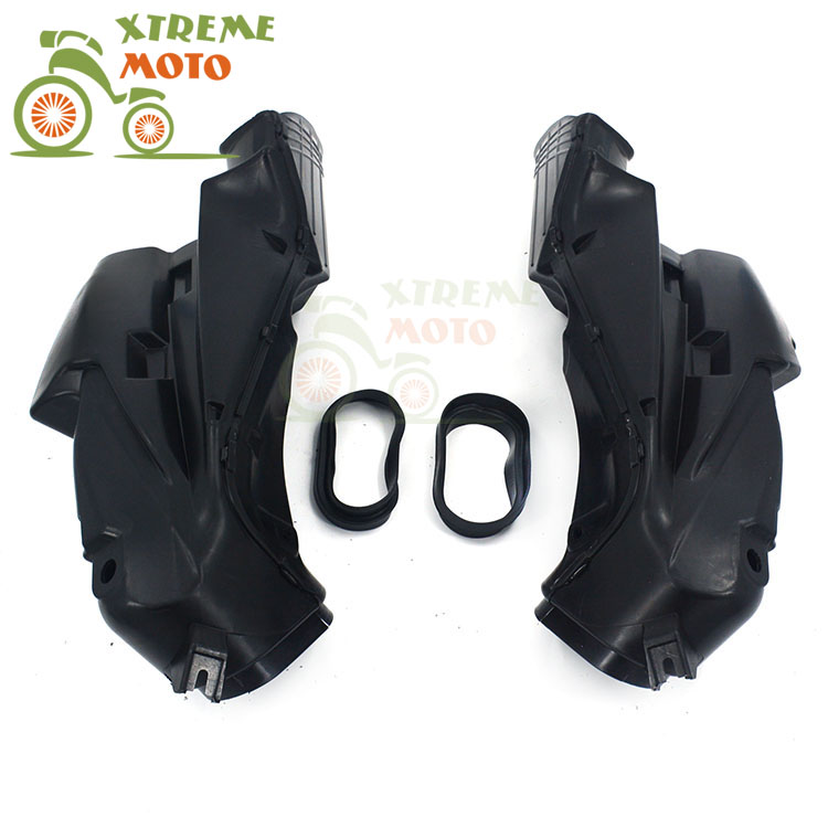 Motorcycle Air Intake Tube Duct Cover Fairing For SUZUKI GSXR600 2006-2007 2006 2007 GSXR750 2006-2007 06 07 K6 aftermarket free shipping motorcycle parts eliminator tidy tail for 2006 2007 2008 fz6 fazer 2007 2008b lack