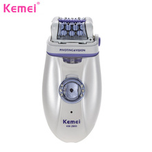 KEMEI Epilators Hair Removal for Women Female Hair Cutting Machine Shav