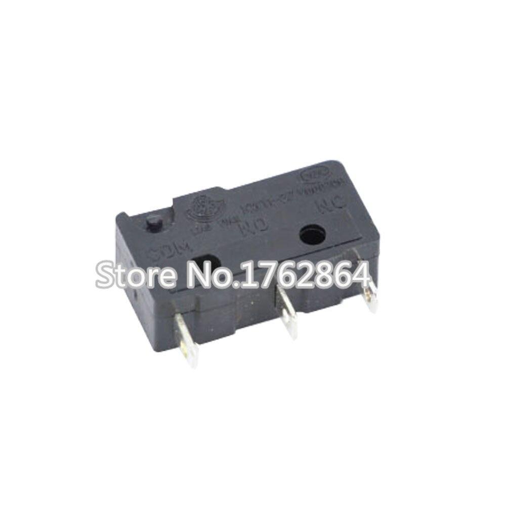 100PCS/lot 3pin All New Limit Switch N/O N/C 5A250VAC KW11-3Z Mini Micro Switch Sessile Laser Machine Micro Limit Sensor