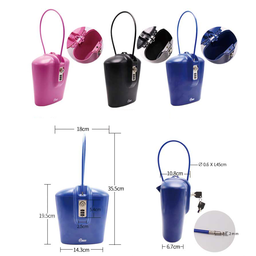 Combination package for safety locks Power isolation Valve isolation Combination of lock, hang tag and lock Simple and easy - 6