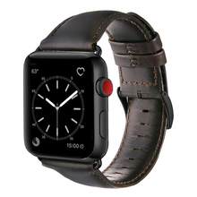 Leather Replacement Watchbands Band Strap For Apple Watch 4 44mm , VIOTOO Bracelet Men for iwatch