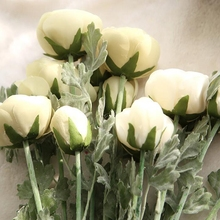 10 Pcs Lulian Tea Rose Artificial Flower Wedding Silk Simulated for Party and Home Deco