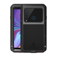 Shockproof Armor Case For Samsung Galaxy A9 2018 &Tempered Glass Full Body Protective 360 Shock Covers sFor Samsung A9 2018 Case