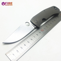 BMT C185 Hunting Tactical Folding Knife Utility EDC Pocket Outdoor Camping Knives Survival Combat Portable Multi